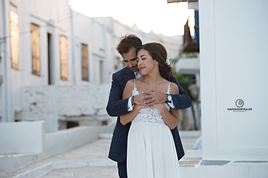 wedding photographer in sifnos